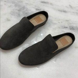 Gray suede dolce vita mules, size 6 NWT